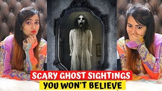 SCARY Ghost Sightings You Won't Believe (Can't UNSEE This)