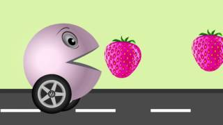 Learn colors with PACMAN Fruits | Best fun Learning Videos for Kids| Toddlers Nursery Children