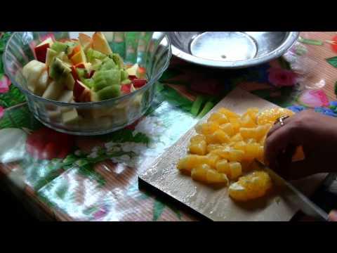 видео рецепт: фруктовый салат