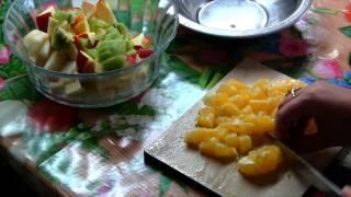 видео рецепт: фруктовый салат(видео рецепт: фруктовый салат., 2014-04-07T20:51:56.000Z)