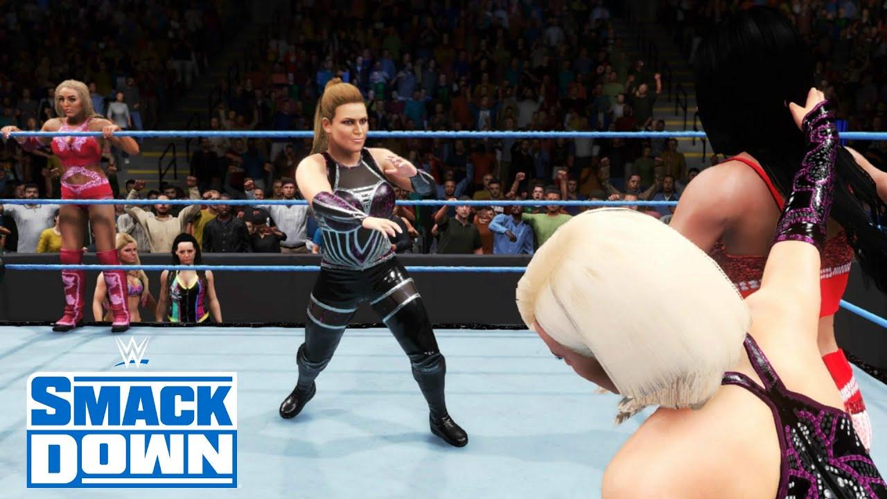 WWE 2k19: Lanas Revenge! I broke the game vs Becky Lynch