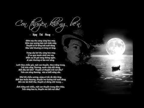 Con Thuyền Không Bến - Hà Thanh - Nhạc sỹ Đặng Thế Phong (pre 75)