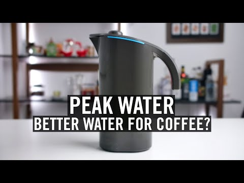 Peak Water - Better Water For Coffee?