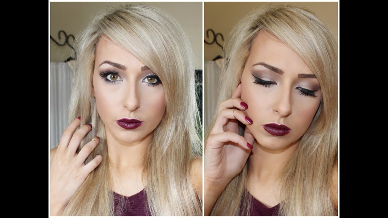 Très MAC media lipstick Fall/Autumn Makeup ♡ Bold Dark vampy Lips  BY73