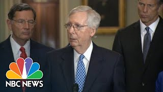 Mitch McConnell: 'I Don't Recall' Talking To Trump About His Call With Ukraine   NBC News