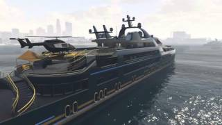 GTA 5 - Super Yacht Party - PS4