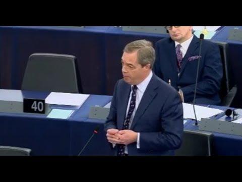 Nigel Farage ``Europe You Met Your Match DONALD TRUMP on Tariffs``