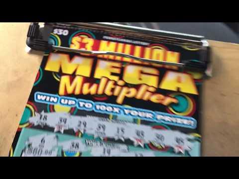$3Million Mega Multiplier, new Pa lottery tix