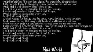 Alex Parks Mad World With Lyrics