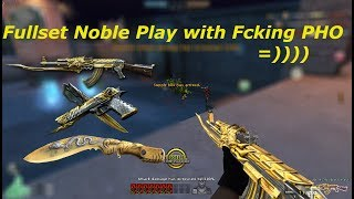 Crossfire NA 2.0: AK47 - Noble Beast & Fullset Noble Beast In HMX Rooftop Gameplay With Pho CFNA :))