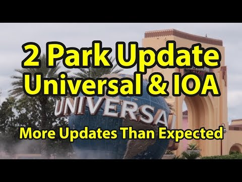 Two Park Update: What's New at Universal Studios and Islands of Adventure