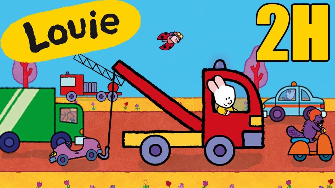 Itfaiye Kamyonu çöp Arabası Araba Louie Bana Araçlar çizmek