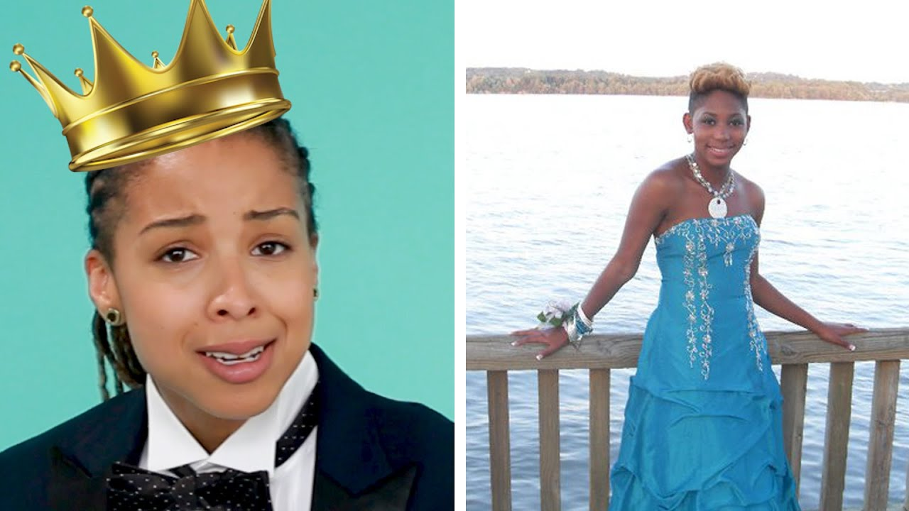 People With Awkward Prom Looks Redo Their Outfits