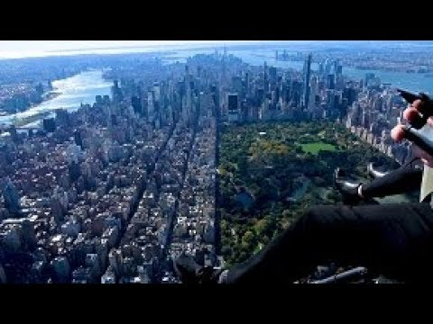 DOORS-OFF HELICOPTER OVER MANHATTAN WITH FLYNYON