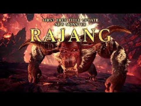 [Steam/PC] Monster Hunter World: Iceborne – Rajang Trailer thumbnail