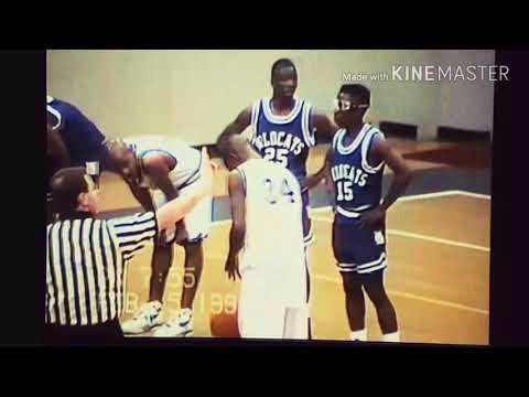 1993 Eldorado vs J.A. Fair Basketball Game 1st Qtr