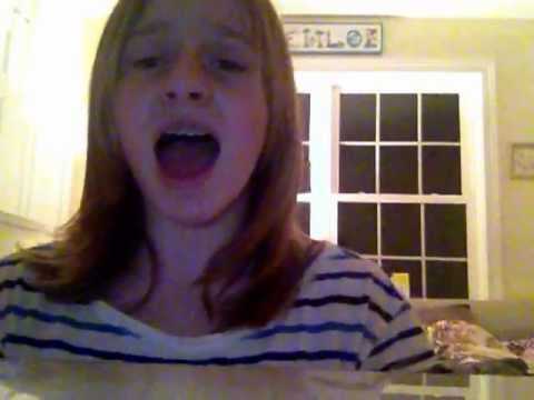 Chloe Singing Pool Mash Up From Pitch Perfect Youtube