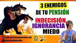 3 Enemigos de tu pensión M-40: Indecisión, ignorancia y miedo. 👹👹👹