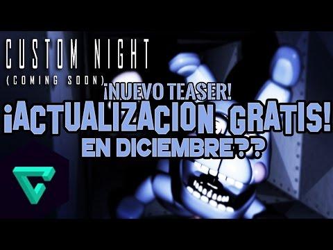 ¡NUEVO TEASER! ACTUALIZACIÓN GRATIS   CUSTOM NIGHT   Five Nights At Freddy's: Sister Location