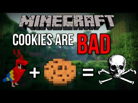 The NEW Way to Tame Parrots in Minecraft 1.12! (Poisonous Cookies)