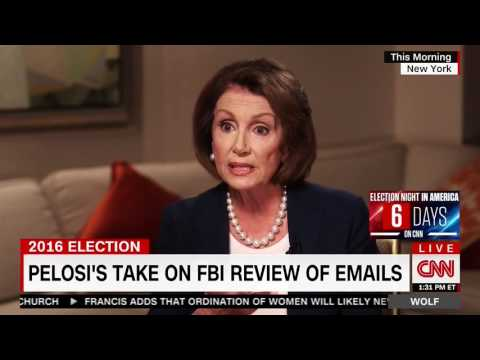 Pelosi: Comey Made a 'Mistake' with Letter to Congress