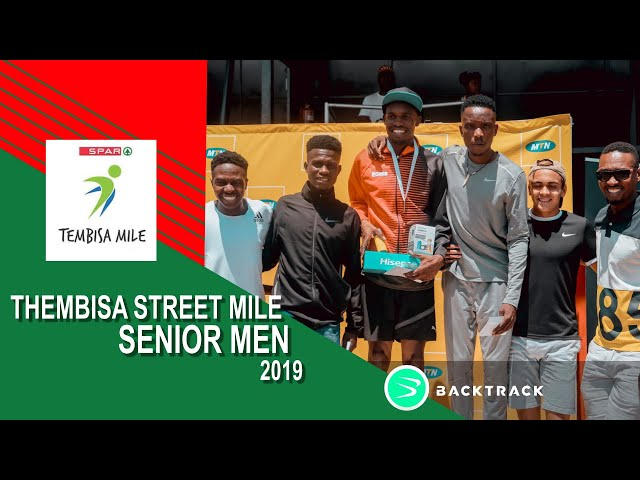 2019 Tembisa Mile Elite Men