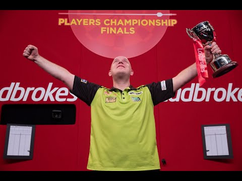 """Michael van Gerwen on ending the drought at Players Championship Finals: """"I've had to come from far"""""""