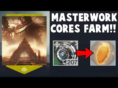 Destiny 2 - MASTERWORK CORE FARM - DO THIS TODAY!