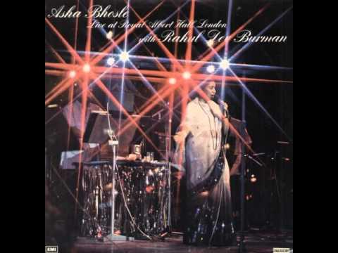 Asha Bhosle - Nigahen Milane Ko Jee Chahata Hai (1979, Live at Royal Albert Hall, London)