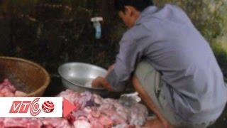 Rùng mình công nghệ biến thịt ôi thành thịt tươi | VTC
