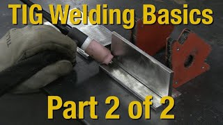 Welding Basics & How-to TIG Weld - Livestream Part 2 of 2 - Eastwood(Learn great TIG Welding Techniques in Part 2 of this 2 part video. Great for beginners and intermediate welders alike. Don't be scared of TIG welding. See how ..., 2014-07-01T21:02:40.000Z)