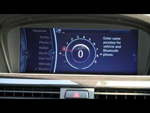 How to Sync your iPhone with your BMW iDrive via Bluetooth