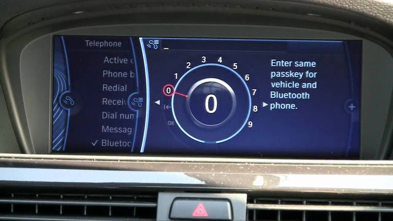 how to sync iphone to car how to sync your iphone with your bmw idrive via bluetooth 19124