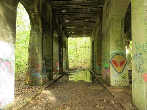 Exploring Ruins and Nature at Monocacy Hill, Berks county PA