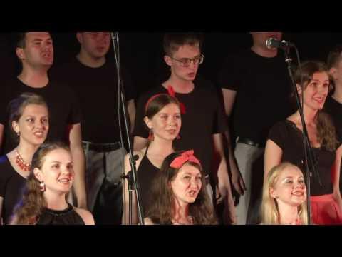 Концерт хора ННГУ в Зелёном театре. СОЧИ 2016.