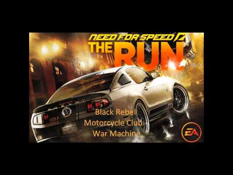 BRMC - War Machine (Need for Speed The Run - Limited Edition Trailer Soundtrack)