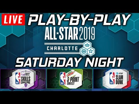 NBA ALL-STAR Saturday Night    Live Play-By-Play & Reactions thumbnail