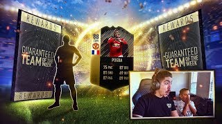 IF POGBA IN A PACK!!! GUARANTEED TOTW PACKS!! FIFA 18