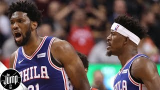 Why is Joel Embiid 'so trash' right now?   The Jump