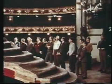 Tippett rehearses The Midsummer Marriage