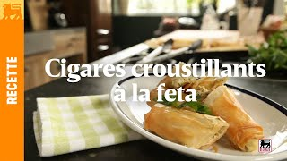 Cigares croustillants à la feta