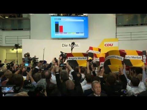 Elections allemandes: satisfaction à la CDU