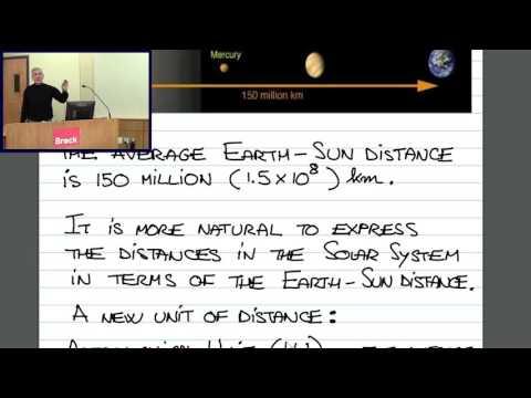 ASTR1P01 CLIP 5: The Astronomical Unit (AU); the Light-Minute
