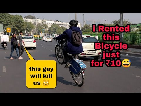 How to Rent a Bicycle in india | Smartbike GPS