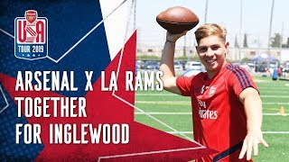Arsenal x NFL's LA Rams | Together for Inglewood