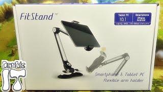 fitStand 핏스탠드 태블릿 스마트폰 거치대 제품 구입 사용기 리뷰