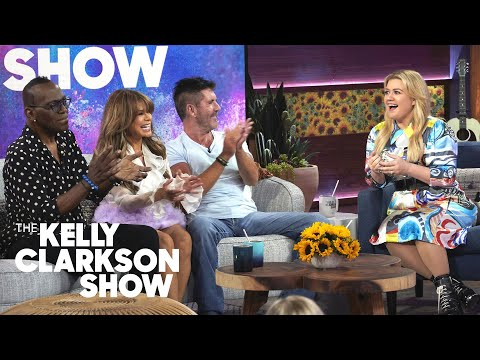 Chris Davis - Kelly Clarkson Reunites with Paula Abdul, Simon Cowell, & Randy Jackson