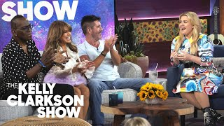 Simon Cowell, Paula Abdul & Randy Jackson Say Kelly Was A 'Game Changer' | The Kelly Clarkson Show