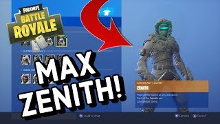 MAX ZENITH Skin Gameplay In Fortnite Battle Royale