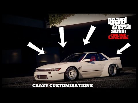 New Gta 5 Online Best Cars To Customize Rare Secret Cars Crazy